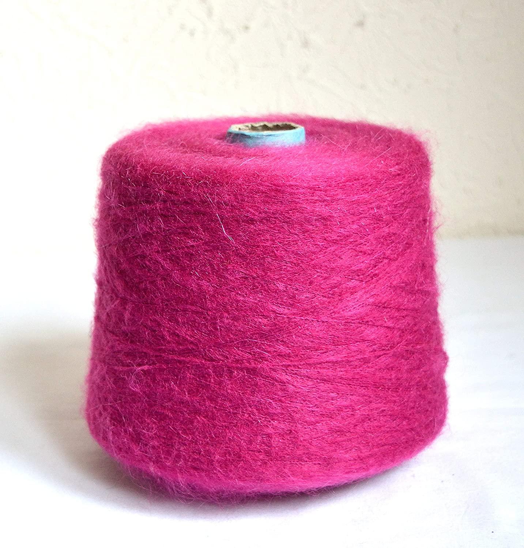Italian Mohair Yarns, 2.2 lb / 1000 grams cone