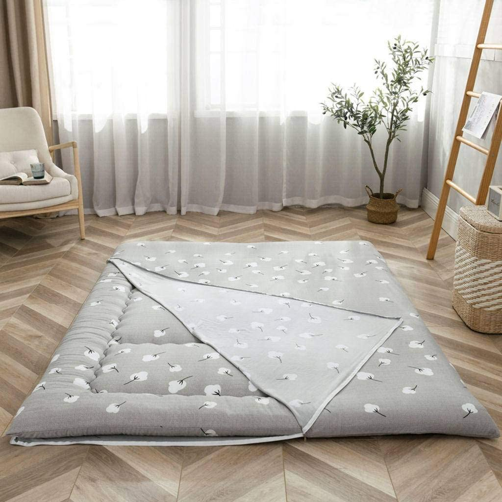 HUANXA Futon Mattress Cover, Mattress Protective Cover Easy to Clean Tatami Mat Dust Cover No Mattress-A-Twin(39x79inch)