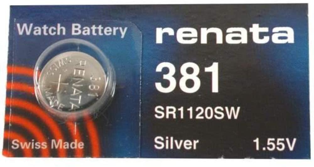 Renata 381 Watch Battery 381 (Sr1120Sw)