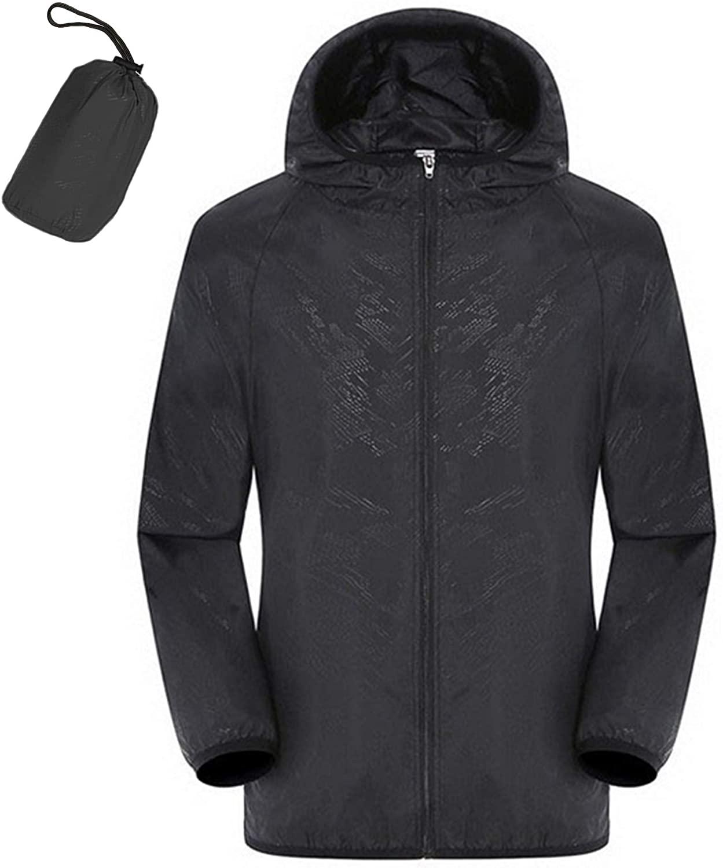 Alpha Survival Pocket Windbreaker Jacket - Foldable Lightweight Waterproof Windproof
