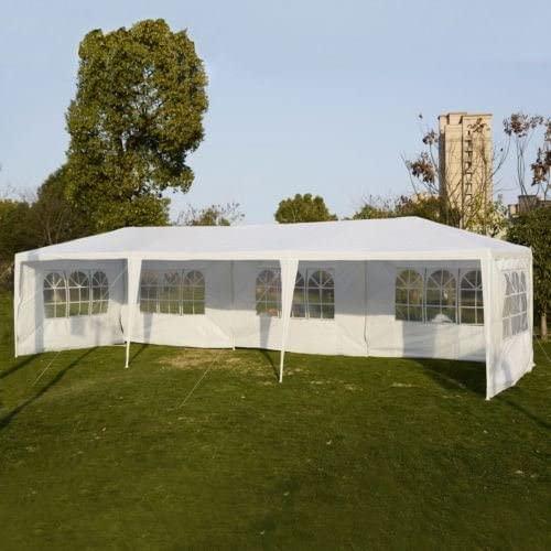 10'x30' Party Wedding Outdoor Patio Tent Canopy Heavy duty Gazebo Pavilion Event - White