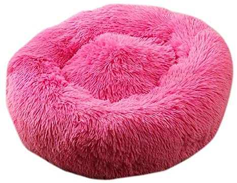 ThuyDM Shop Dog Bed Pet Round Plush Cat Bed Shape Sleeping Bag Kennel Cat Puppy Sofa Bed Pet House Winter Warm Beds Cushion Cat Bed #15-B-1-40cm