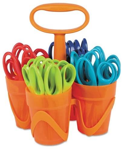 Fiskars - Scissors, 5 in. Length, Classpack, Pointed Tip, Assorted 1234677097J (DMi ST