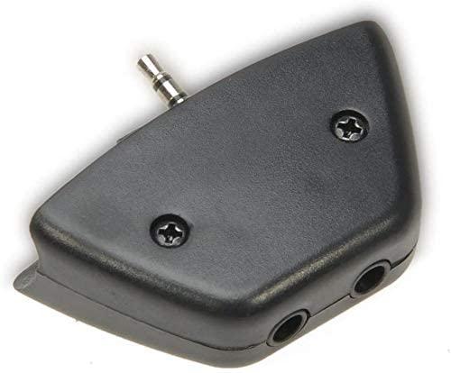 2.5mm Jack Micphone Earphone to 3.5mm Audio Adapter Converter for Microsoft Xbox 360 Controller Headset Headphone