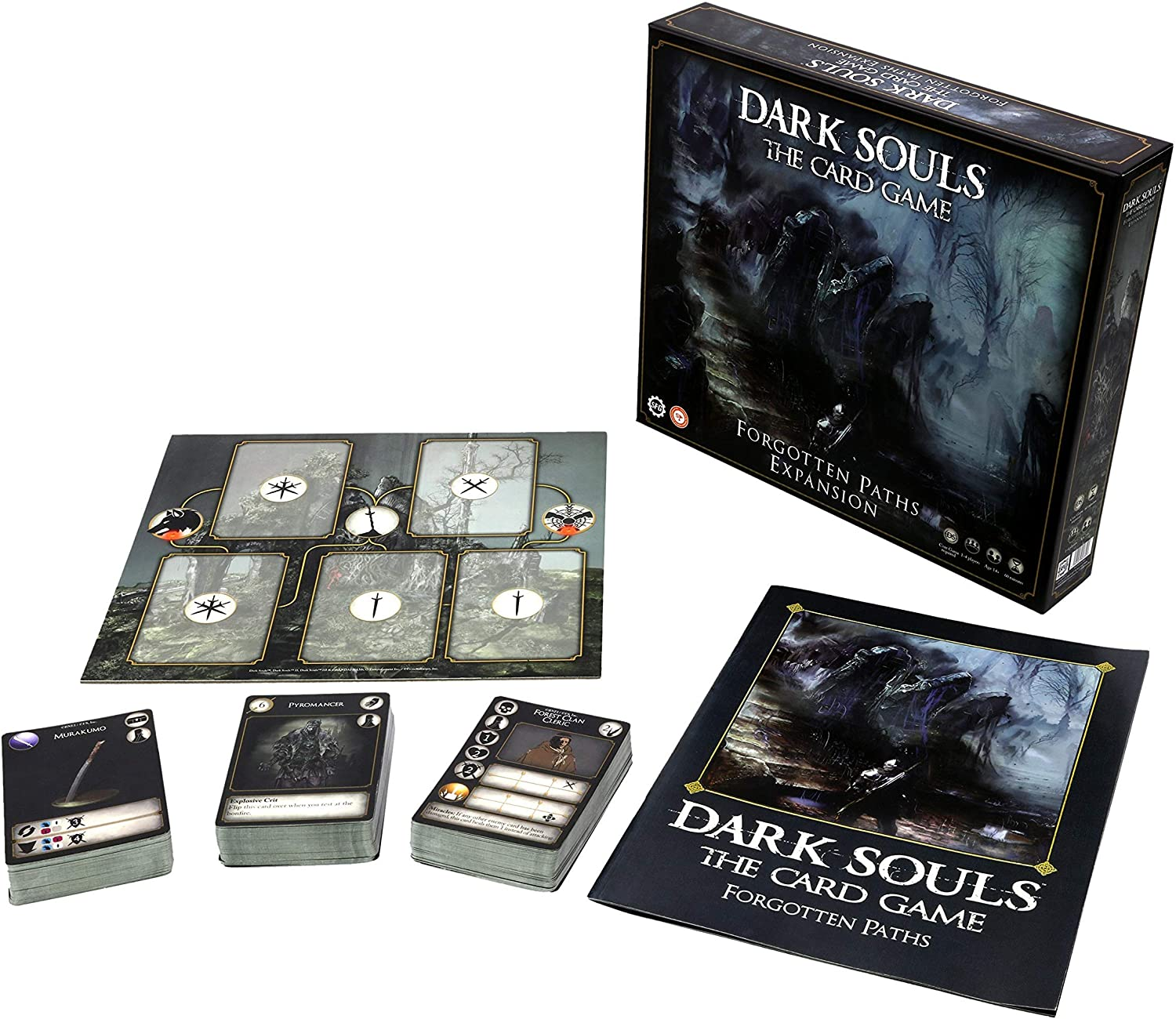 Steamforged Games Dark Souls: The Card Game - Expansion - Forgotten Paths, Brown (SFDSTCG-002)