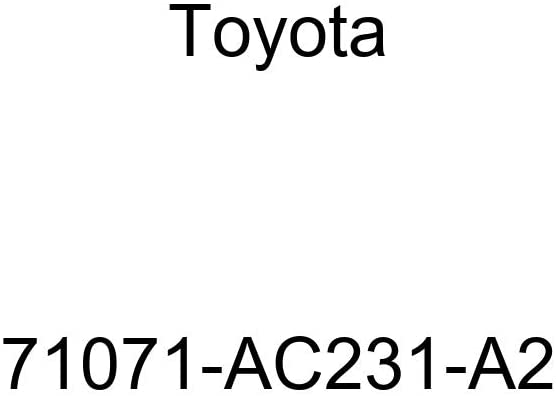 TOYOTA Genuine 71071-AC231-A2 Seat Cushion Cover