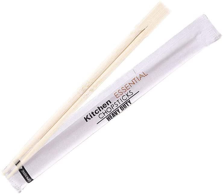 Hyshina Premium Disposable Bamboo Chopsticks Sleeved and Separated in Sleeves 8