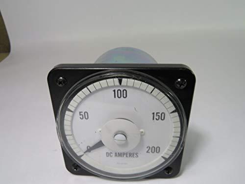 Yokogawa 103-121-CARL Panel Meter 0-200 DC Amperes