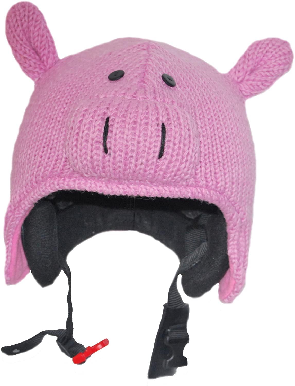 Ski Helmet Cover Piggy