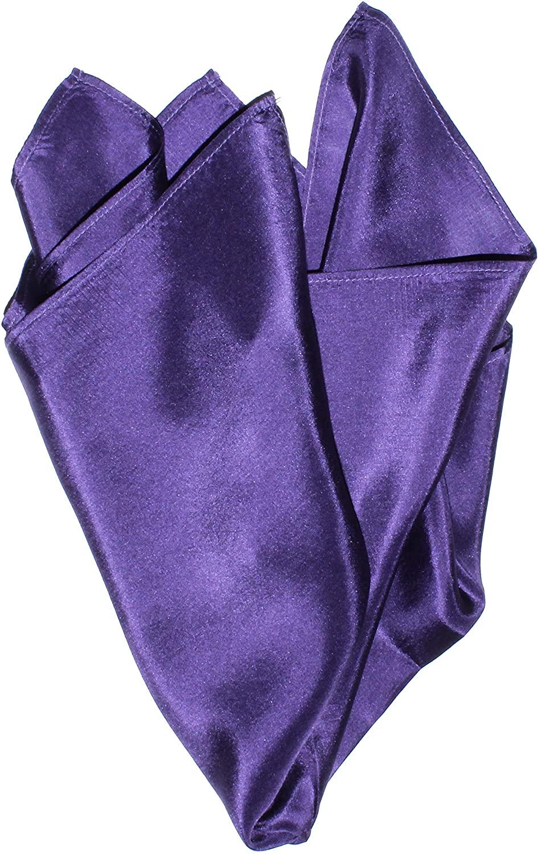 Eggplant Silk Handkerchief - Full-Sized 16