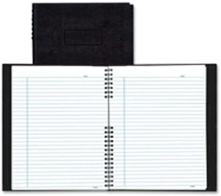 Note Pro Business Notebook, College Rule, Letter, White, 75 Sheets/Pad
