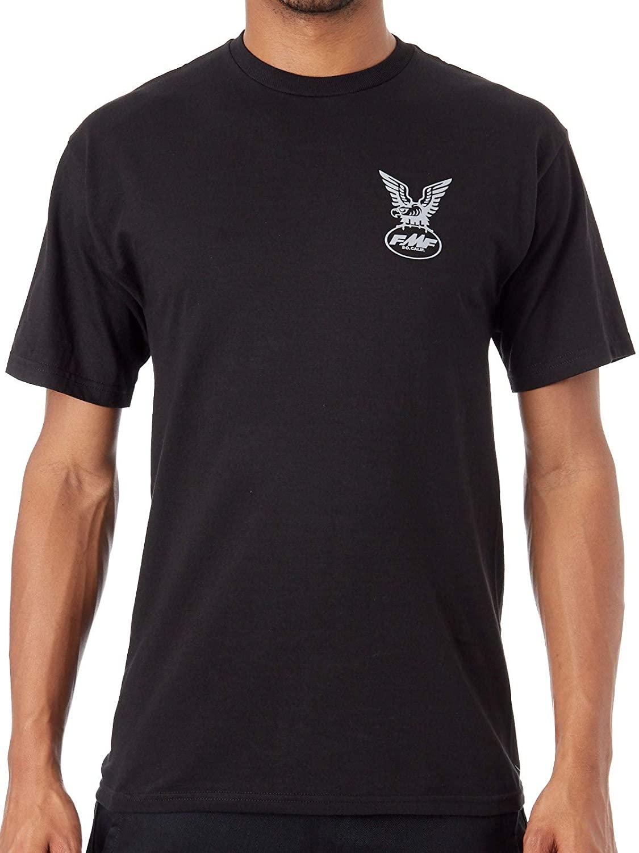 FMF Racing Black Ascending T-Shirt (S, Black)