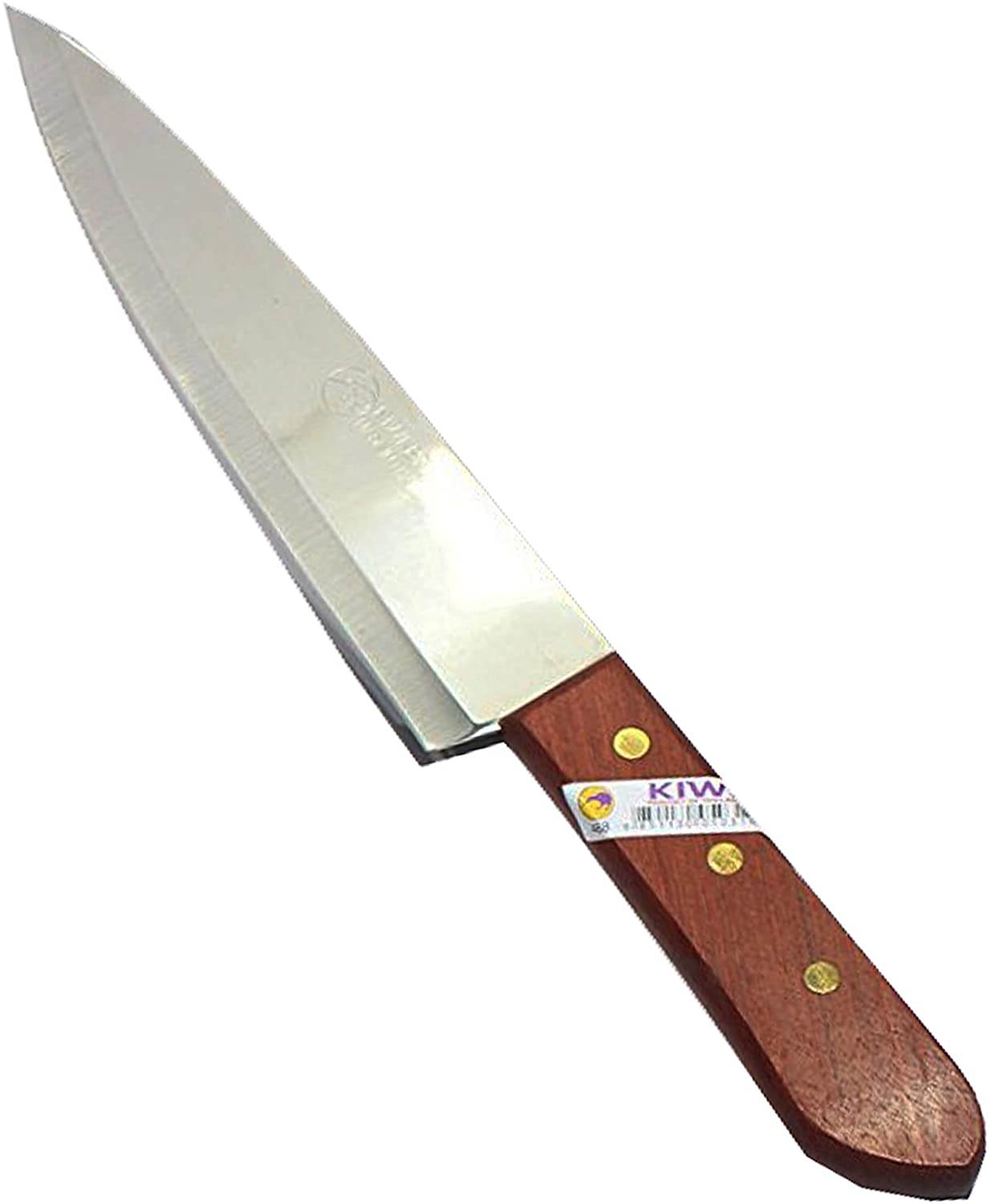 KIWI Knife Kitchen Cut Sharp Blade Cookware Stainless Steel Size 7.6 Inch (No.488)