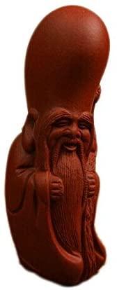 Chinese Yixing Pure Clay Tea Decoration Handmade Longevity Buddha Tea Pet Qingshui Ni