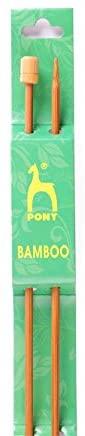 PONY Bamboo Knitting Needles - per Pack