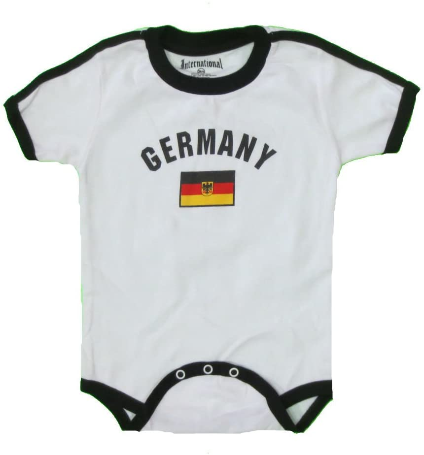 GERMANY BABY BODYSUIT 100%COTTON.SIZE FOR 12 MONTHS.NEW.