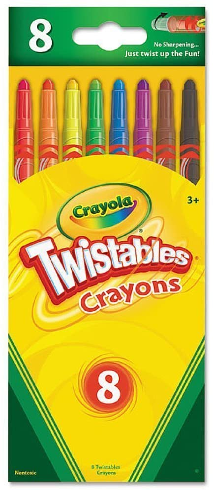 Crayola L L C 52-7408 Twistables Crayons (Pack of 3)