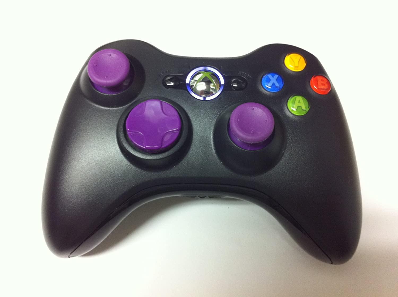 Drop Shot, Auto-aim, Xbox 360 Modded Controller for COD Black Ops 2, Mw3, Mw2, Rapid Fire Mod(purple)