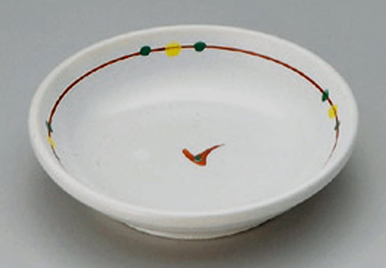TWO-COLORS-MIZUTAMA Jiki Japanese Porcelain Small Plate