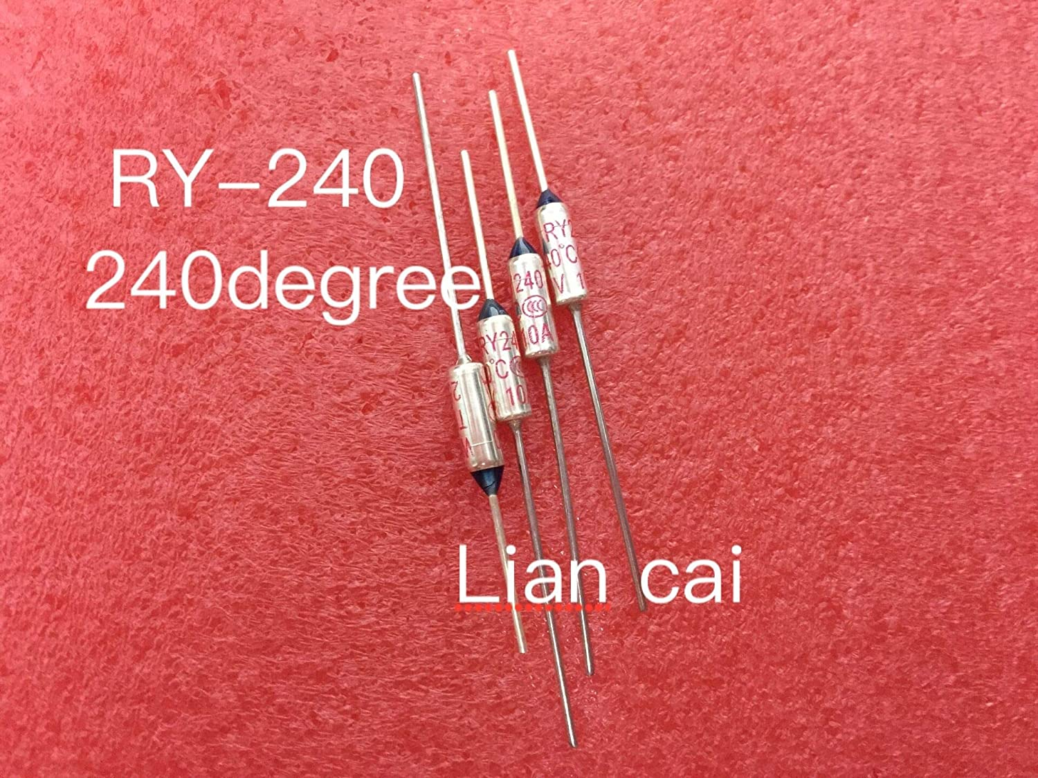 Chavis RY-240 RY Thermal Cutoff TF 240 degree Thermal-Links 10A 250V Temperature Fuse For Electric Rice Cooker x 100PCS