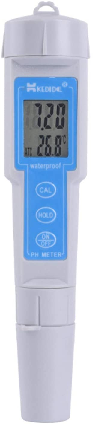 HH-HL Digital Display CT-6023 PH Meter Water PH Tester High-Precision Pen-Type PH Meter Water Quality Analyzer Laboratory Tools with ATC High Sensitivity