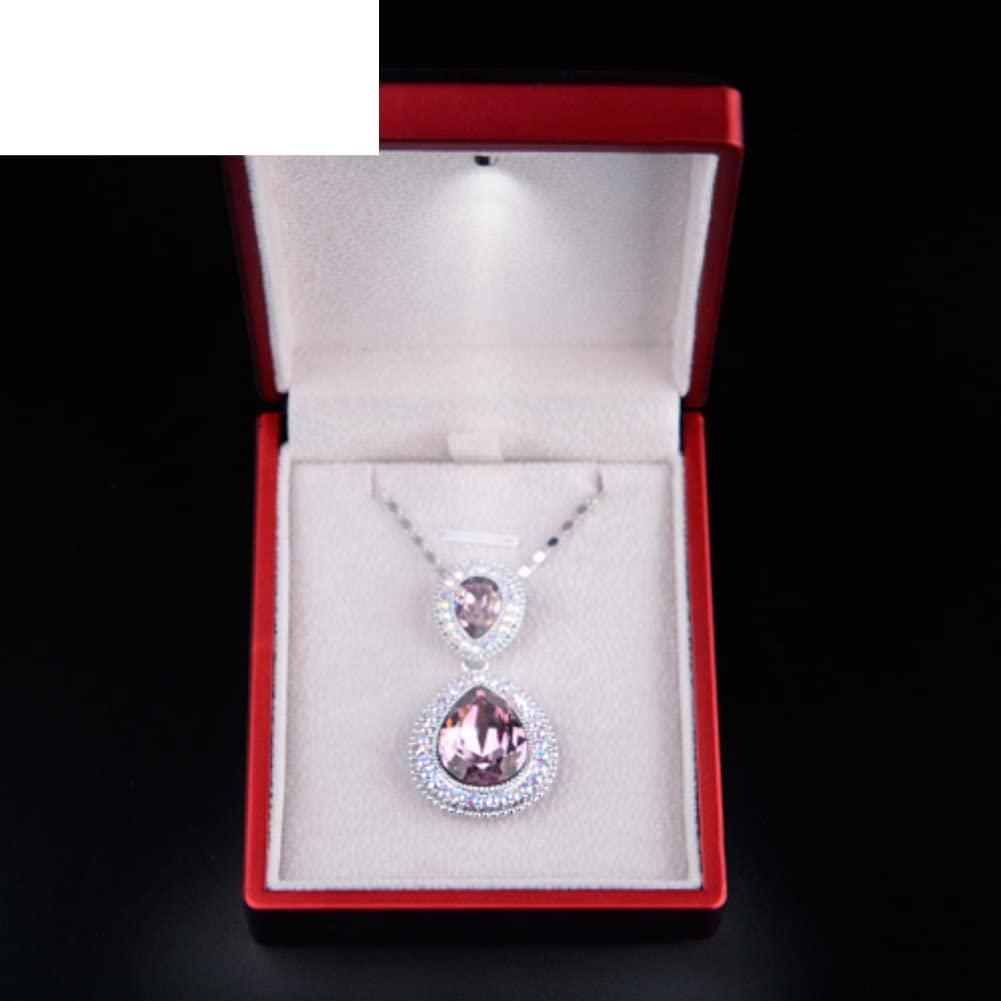 TRE jewelry creative marriage proposalLED ring box/ knot wedding ring box/Illuminated Bracelet Necklace box-B