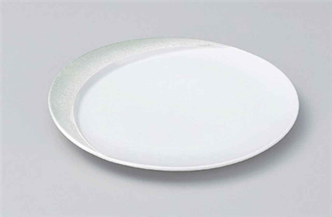 Hiwa Blow 7.9inch Set of 5 Medium Plates porcelain Made in Japan