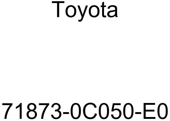 TOYOTA Genuine 71873-0C050-E0 Seat Cushion Shield