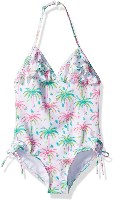 Kate Mack Girls' Island Hopping Tank Swimsuit