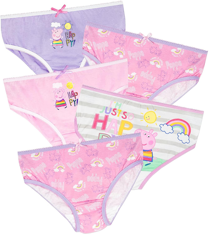 Peppa Pig Girls Piglet Underwear Pack of 5