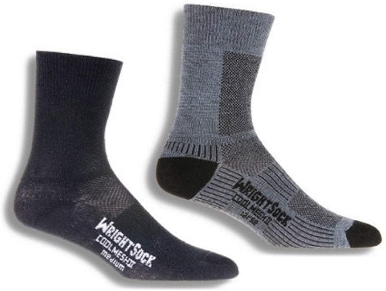 Wrightsock Coolmesh II Crew Running Socks - 2 Pack