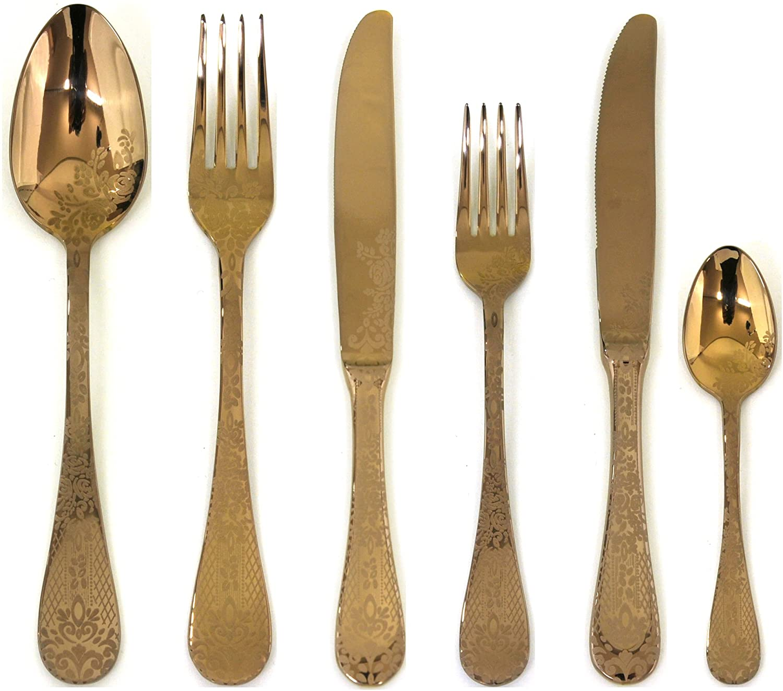 Mepra flatware-sets, Metallic
