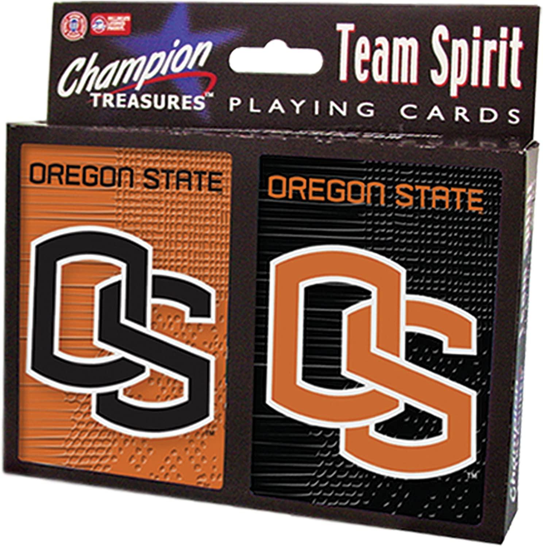 NCAA Oregon State Beavers 2 Pack Playing Card Set