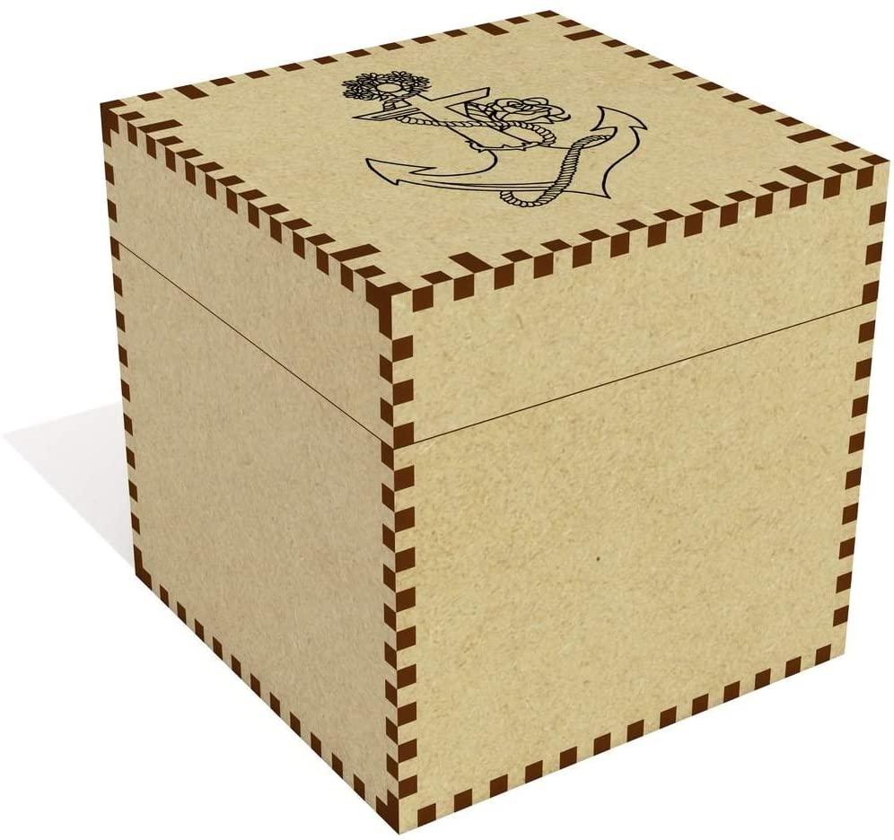 Large 'Anchor' Jewellery / Trinket Box (JB00009861)