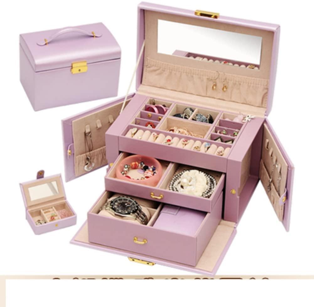 TRE fashion jewelry box/Size Butterfly Princess classic European-style makeup Kit/Wood jewelry storage box-J