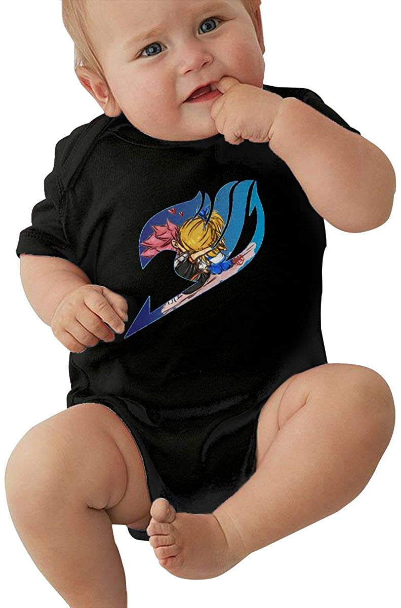 CHEERPEACETIME Fairy Tail Baby Jersey Bodysuits Jumpsuit Romper Crawling Onesie Pajamas