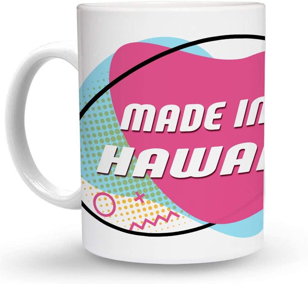 Makoroni - MADE IN HAWAII 6 oz Ceramic Espresso Shot Mug/Cup Design#80