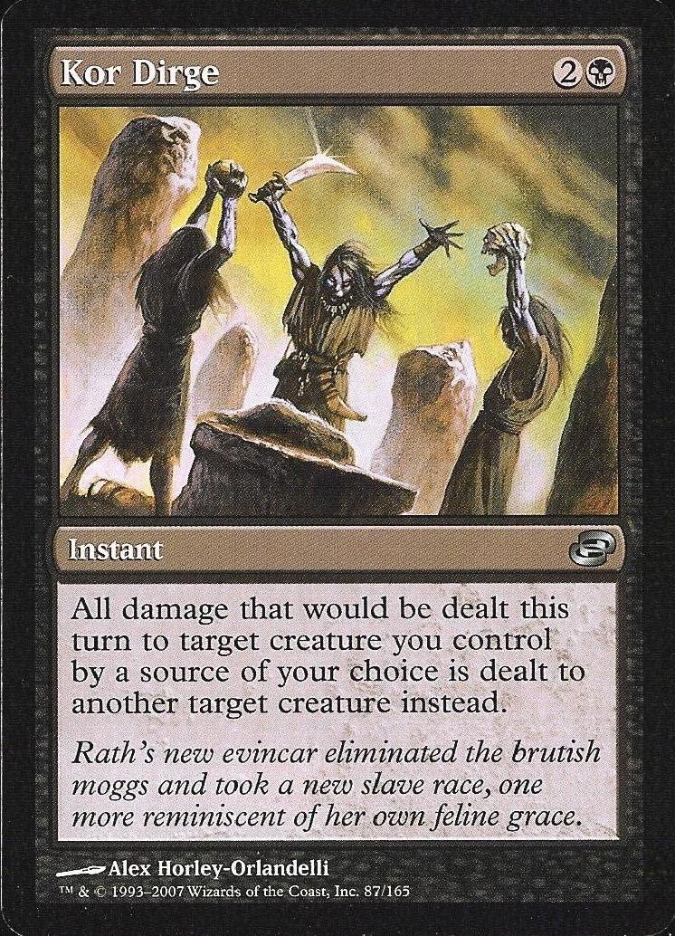 Magic: the Gathering - KOR Dirge - Planar Chaos - Foil