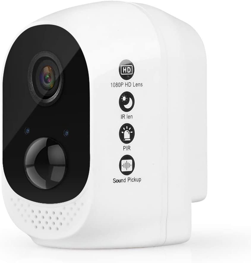 Wireless Camera Mobile Remote Home Network WiFi Night Vision HD Indoor Outdoor Battery Monitoring