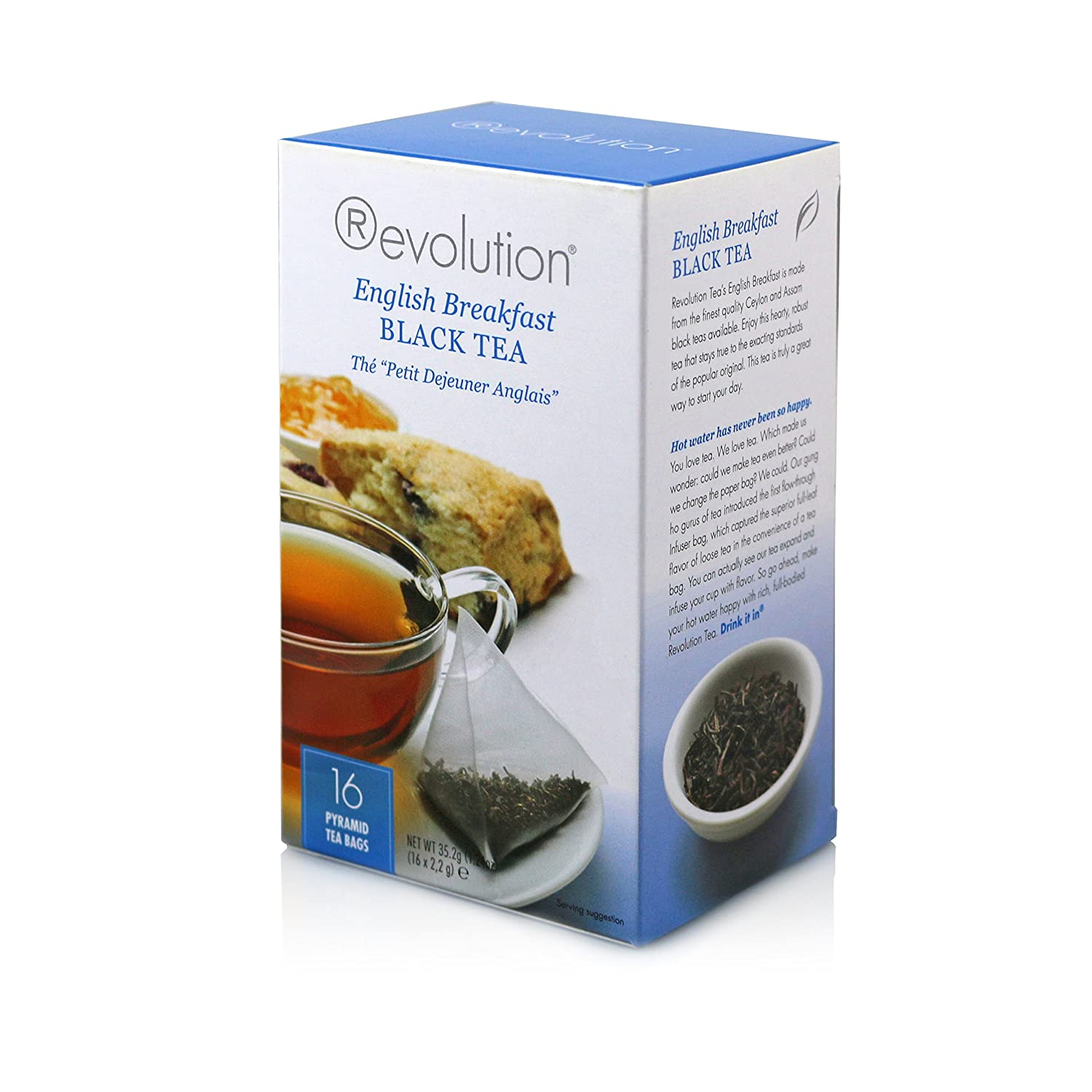 Revolution English Breakfast Tea 16ct