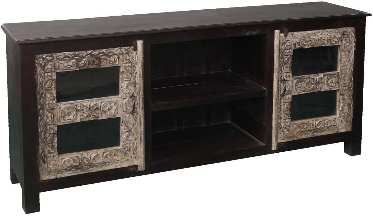 Rustic Solid Reclaimed Wooden Modern Antique Handmade Sideboard