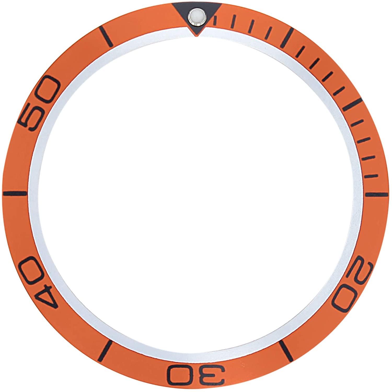 Bezel Insert for Omega SEAMASTER Planet Ocean Chronometer 2209.50 42MM Orange