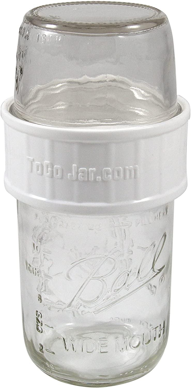 ToGoJar Set with Mason Jars - Mason Jar Storage & Food On The Go