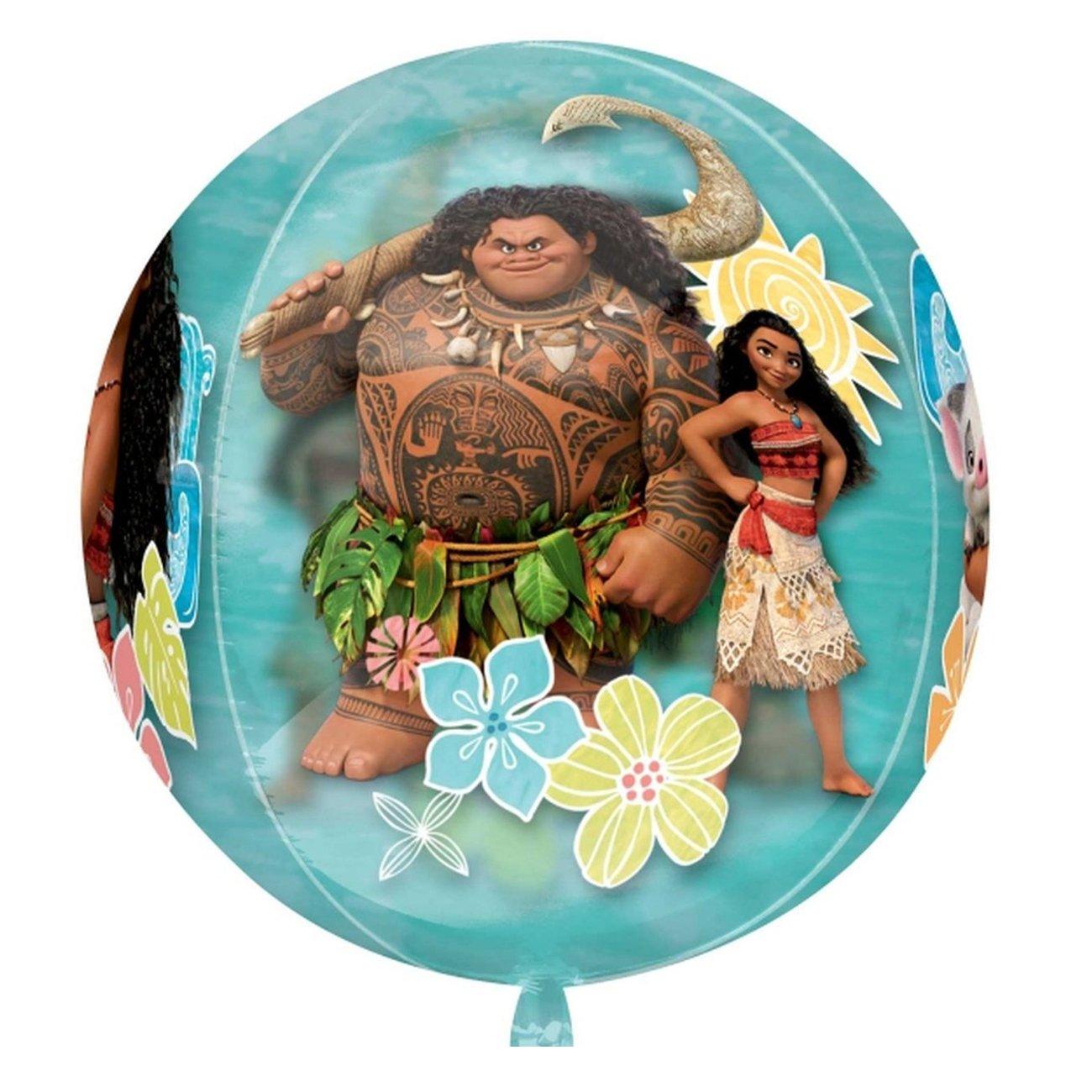 Anagram Disney Moana Orbz Foil Balloon