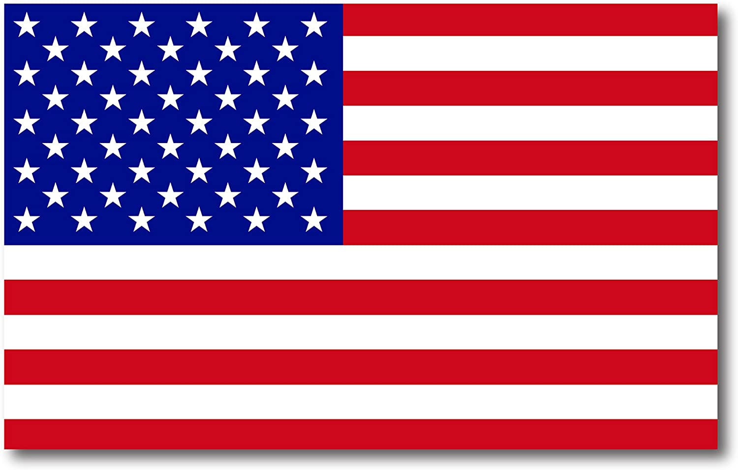 American Flag Car Magnet Decal - 5 x 8 Heavy Duty for Car Truck SUV Waterproof