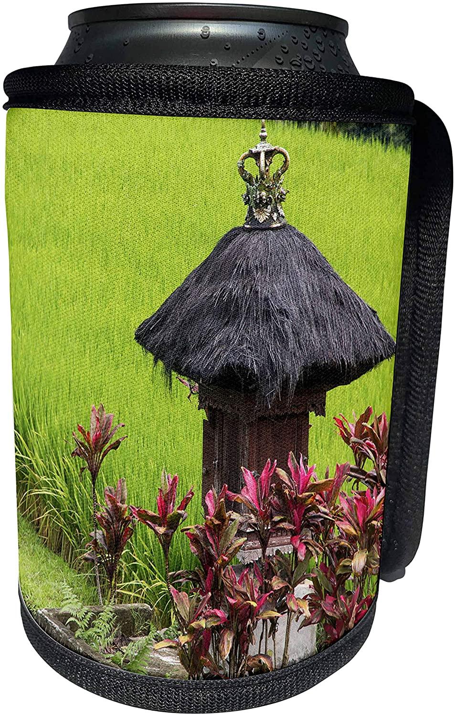 3dRose Danita Delimont - Agriculture - Indonesia, Bali. Terraced Subak Rice fields - Can Cooler Bottle Wrap (cc_225786_1)