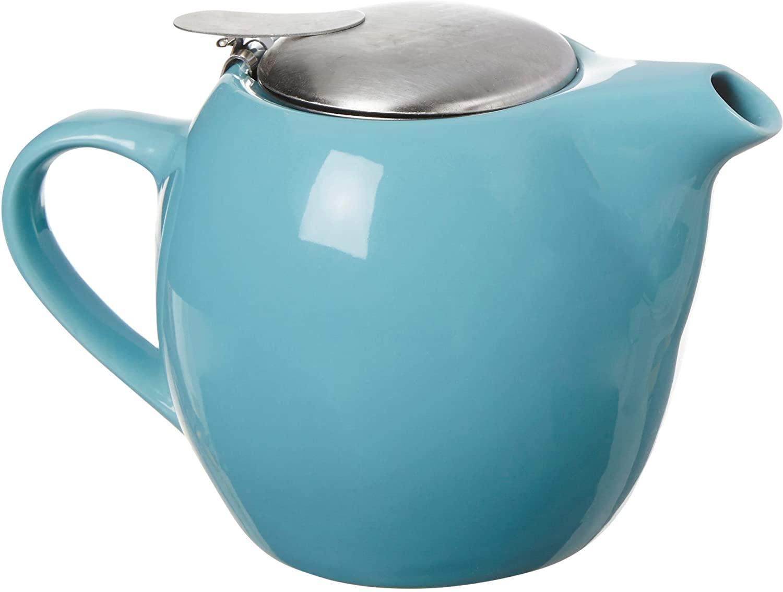 Ooh La La 0.63-qt. Teapot Color: Turquoise