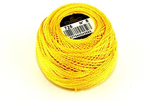 DMC Cotton Perle Thread Size 8 725 - per 10 gram ball