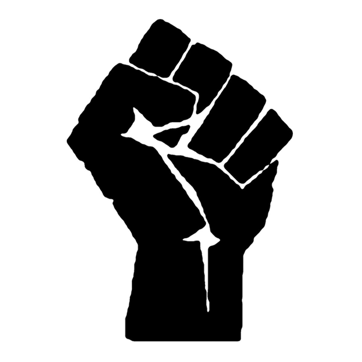 Raised Fist Temporary Tattoos (10 Pack) | Skin Safe | MADE IN THE USA| Removable
