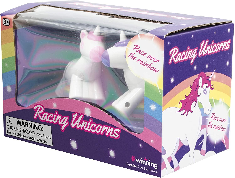 Toysmith Wind Up Racing Unicorns